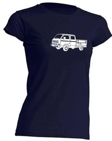 T3 Doka-Bus Lady-T-Shirt Busliebe24 – Bild 7