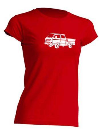 T3 Doka-Bus Lady-T-Shirt Busliebe24 – Bild 2