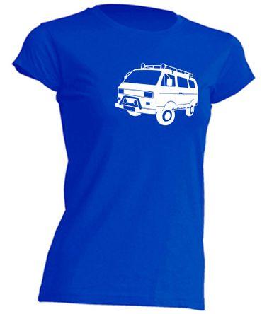 T3 Syncro-Bus Lady-T-Shirt Busliebe24 – Bild 3