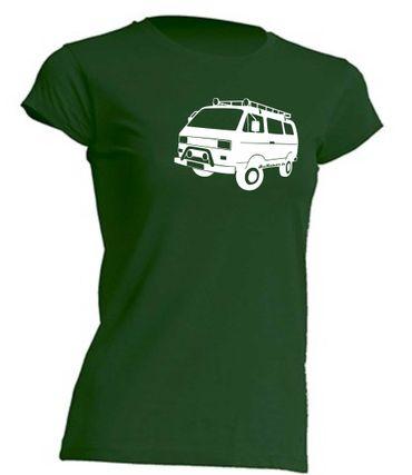 T3 Syncro-Bus Lady-T-Shirt Busliebe24 – Bild 5