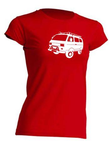 T3 Syncro-Bus Lady-T-Shirt Busliebe24 – Bild 10