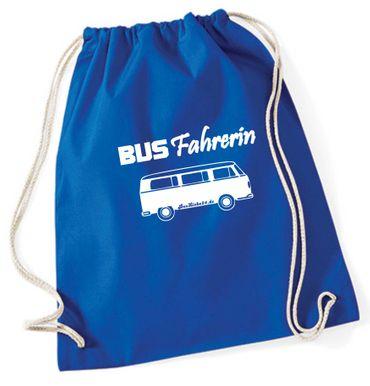 """Turnbeutel / Rucksack """"Busfahrerin T2 """" – Bild 8"""