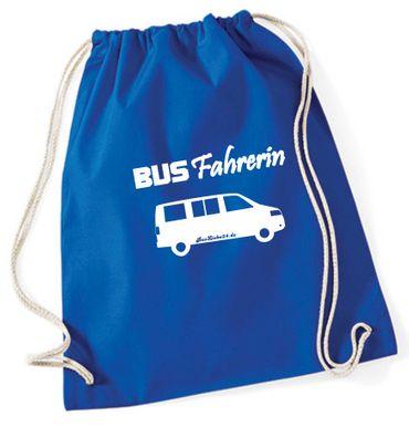 """Turnbeutel / Rucksack """"Busfahrerin T5 """" – Bild 7"""