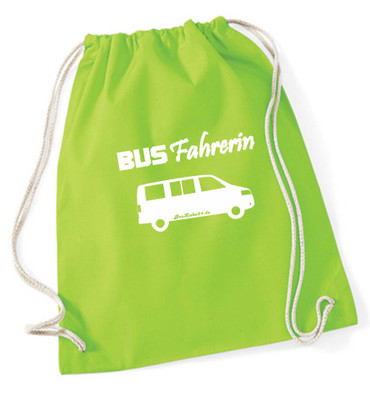 """Turnbeutel / Rucksack """"Busfahrerin T5 """" – Bild 10"""