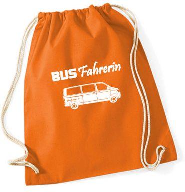 """Turnbeutel / Rucksack """"Busfahrerin T6 """" – Bild 10"""