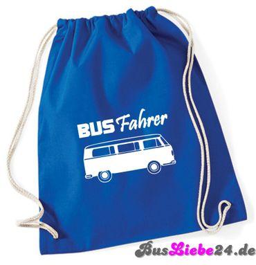 """Turnbeutel / Rucksack """"Busfahrer T2 """" – Bild 2"""