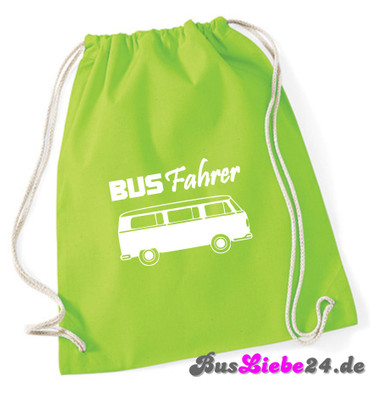 """Turnbeutel / Rucksack """"Busfahrer T2 """" – Bild 5"""