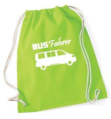 """Turnbeutel / Rucksack """"Busfahrer T5 """" – Bild 1"""
