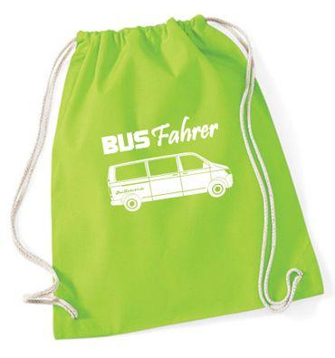"""Turnbeutel / Rucksack """"Busfahrer T6 """" – Bild 7"""
