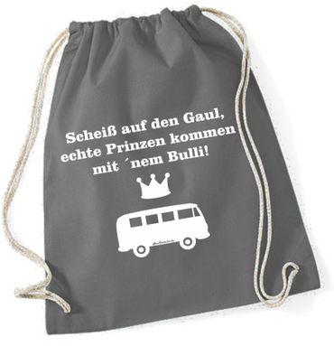 """Turnbeutel / Rucksack """"Scheiss auf den Gaul.. T1"""" – Bild 15"""