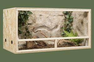 maßgefertigtes Terrarium ohne Belüftung Maßgefertigtes Terrarium ohne Belüftung