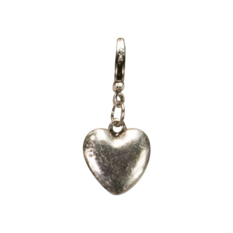 Anhänger Herz klein (antik-silber-farben) Bild 1