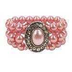 Perlenarmband Sissi (rosé-rosa)