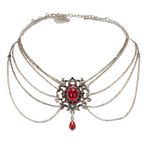 Collier Magalie (rot)