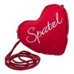 Herztasche Spatzl-Stick (rot)