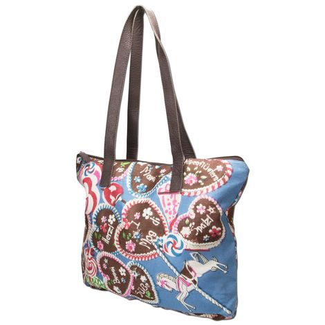 Trachten-Shopper Sweet Temptation (blau) Bild 2