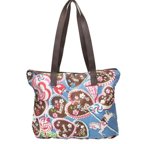 Trachten-Shopper Sweet Temptation (blau) Bild 1