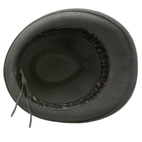Filzhut braune Kordel (schwarz) Bild 4