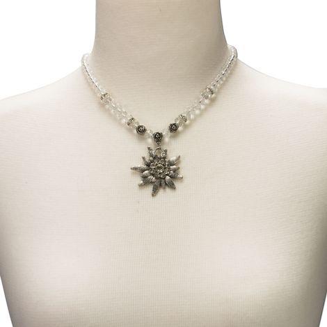 Edelweiß-Perlenkette Fiona Crystal (klar-kristall) Bild 4