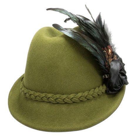 Filzhut Rosamunde (grün) Bild 2
