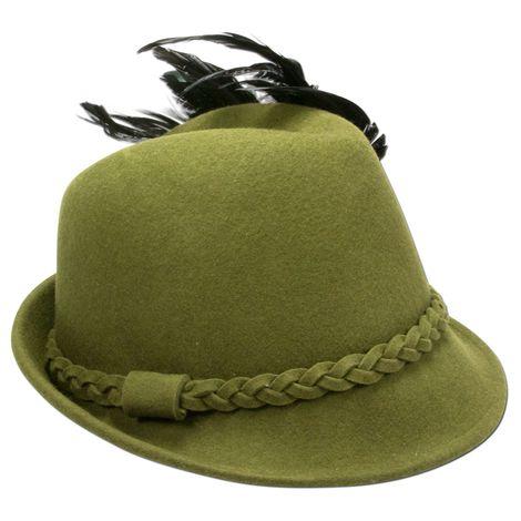 Filzhut Rosamunde (grün) Bild 3