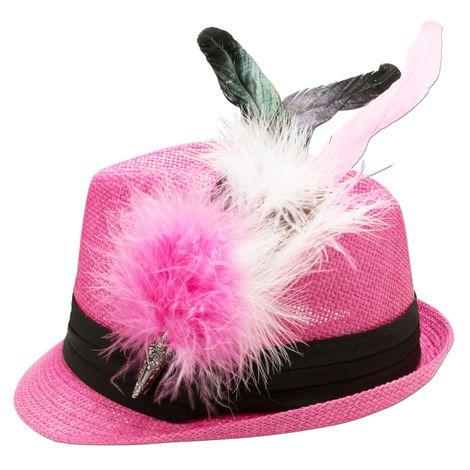 Strohhut Zenzi (pink-fuchsia) Bild 3