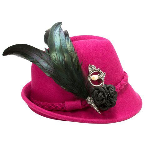 Filzhut Clara (pink-fuchsia) Bild 3