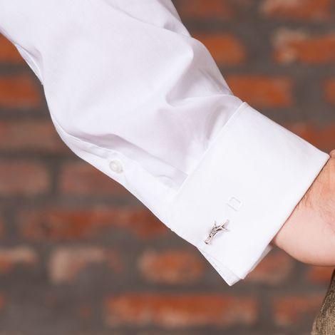 Manschettenknöpfe Horn (bicolor-farben) Bild 2