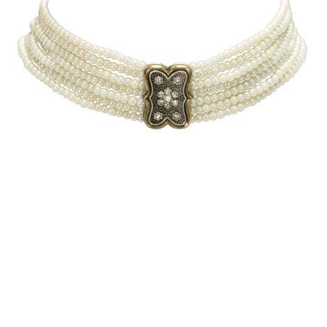 Perlen-Kropfkette Minna (creme-weiß) Bild 3