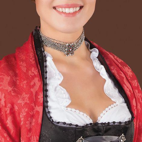 Kropfkette Margot (antik-silber-farben) Bild 2
