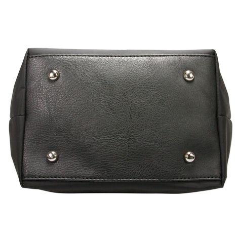 Handtasche Strass-Hirsch (schwarz) Bild 6
