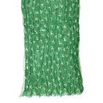 Crush-Trachtenschal Springende Hirsche (grün)
