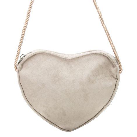 Herz-Trachtentasche (taupe-grau) Bild 2