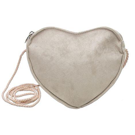 Herz-Trachtentasche (taupe-grau) Bild 1