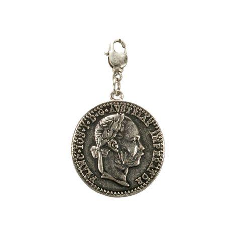 Anhänger Adlermünze (antik-silber-farben) Bild 2