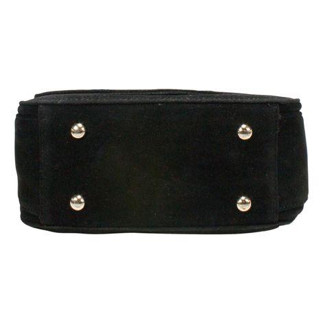Sattel-Trachtentasche Geweih-Herz (schwarz) Bild 5