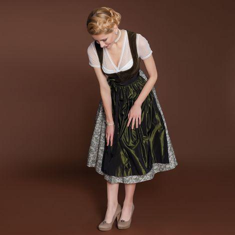 Schuhclips Trachtenherz (antik-silber-farben) Bild 2
