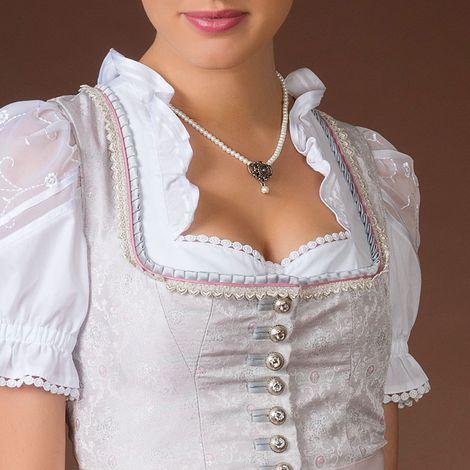 Perlen-Halskette Hedi (creme-weiß) Bild 2