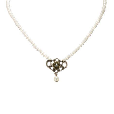 Perlen-Halskette Hedi (creme-weiß) Bild 3