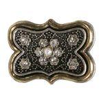 Blusenbrosche Minna (antik-gold-farben)