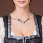 Halskette Edelweiß-Symphonie (antik-silber-farben)