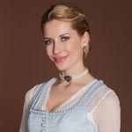 Perlen-Kropfkette Ophelia (creme-weiß)