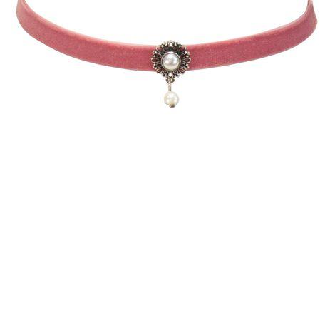 Samt-Kropfband Helena (rosa-rosé) Bild 2