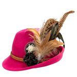 Filzhut Julie (pink-fuchsia)