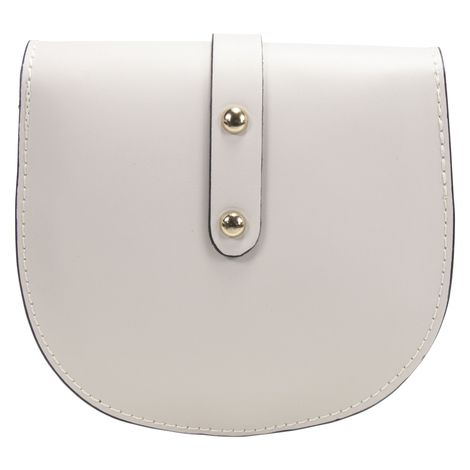 Echt-Leder Trachtentasche Strass-Edelweiß (hell-grau) Bild 4
