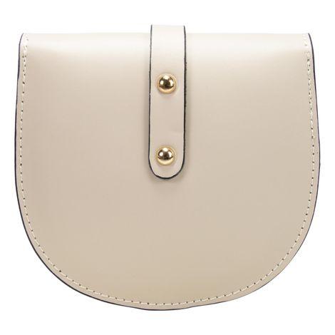 Echt-Leder Trachtentasche Strass-Edelweiß (beige) Bild 4