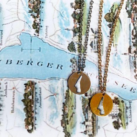 Halskette Starnberger See (silber-farben) Bild 4