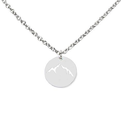 Halskette Berge (silber-farben) Bild 1