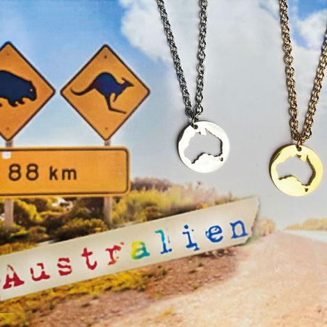Halskette Australien (gold-farben) Bild 4