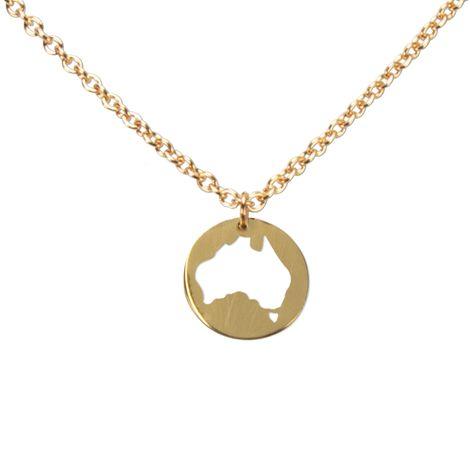 Halskette Australien (gold-farben) Bild 1